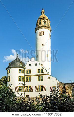 Famous Medieval Hoechster Schlossturm In Frankfurt Hoechst