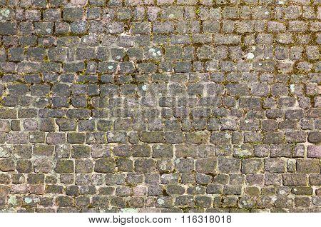 Harmonic Cobble Stone Street Pattern