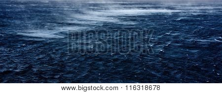 Stormy Morning At The Sea