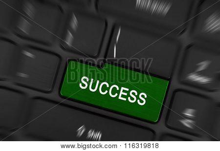 Laptop Button - Success