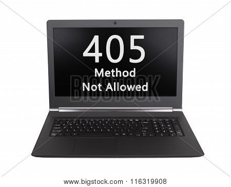 Http Status Code - 405, Method Not Allowed
