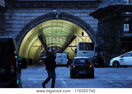 Traforo Umberto I ,tunnel In Rome