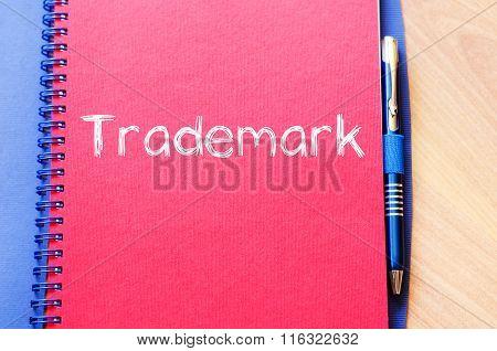 Trademark Write On Notebook