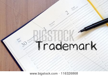 Trademark Write On Notebook