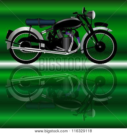 Classic Motor Cycle