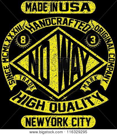 Tee Vintage Slogan Man T Shirt Graphic Vector Design