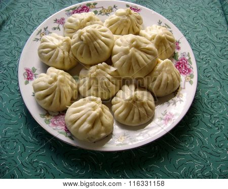 Dim sum buns dumplings