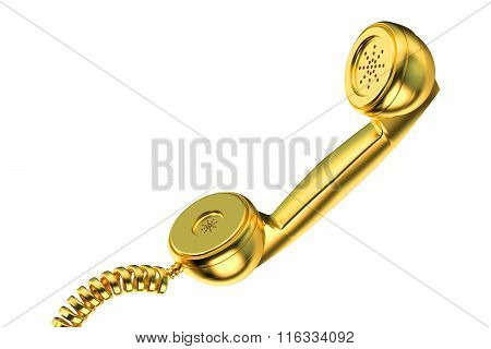 Golden Phone Handset