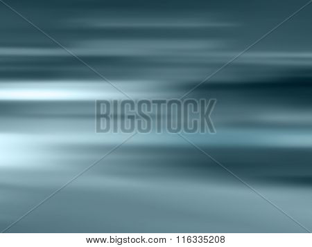 Dynamic background gradient blue gray - blurred horizon line abstract
