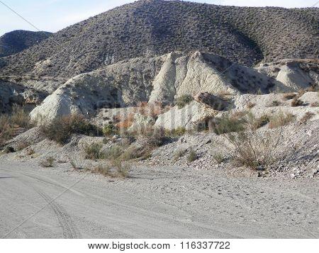 Rocks In Tebernas Desert