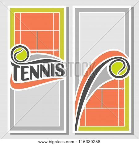 Abstract images for text on the subject of tennis