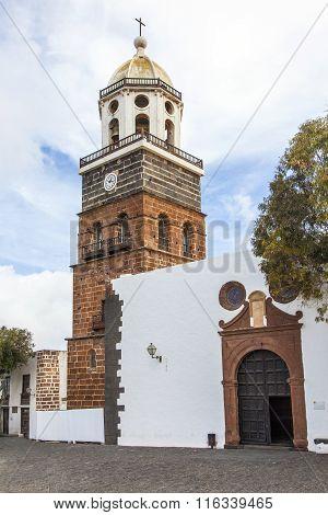 Teguise, Lanzarote, Canary Island, Church Iglesia De Nuestra Senora De Guadalupe,