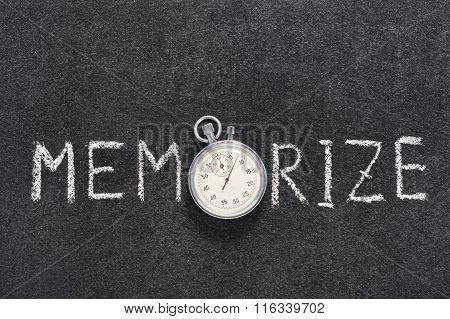 Memorize Word Watch