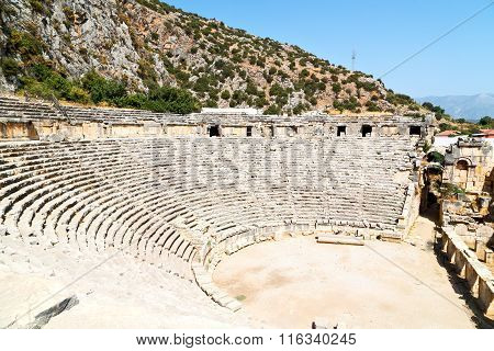 Archeology Theater  In  Myra