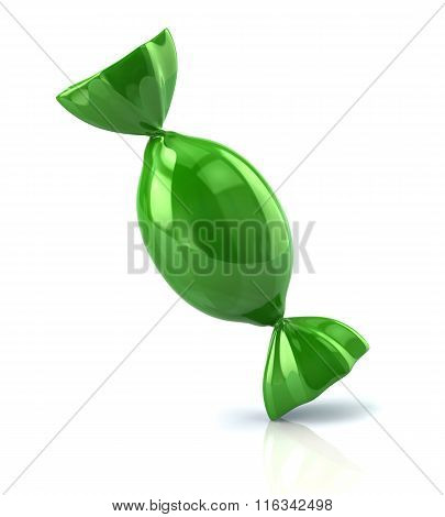 Illustration Of Green Candy