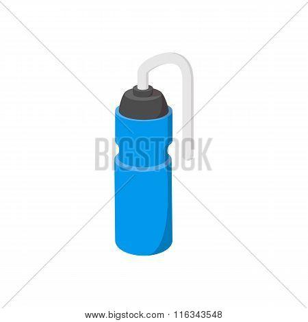 Sport water bottle cartoon icon