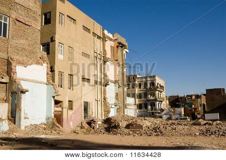 Demolition, Luxor, Egypt