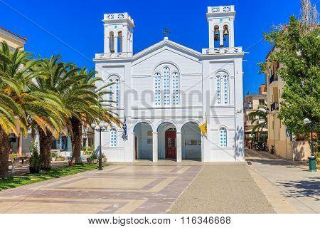 cathedral of Agios Nikolaos in Nafplion, Greece
