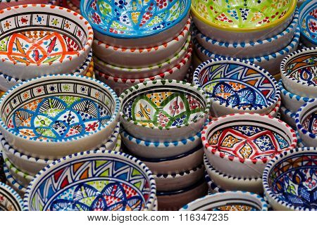 Colorful Bowls Zoom In