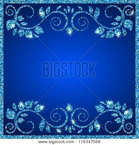 Background With Ornamental Frame