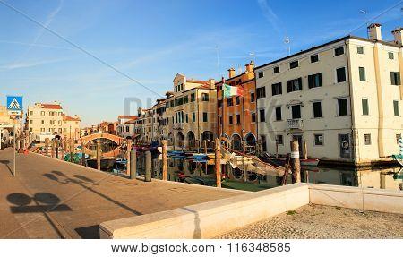 Chioggia, Little Town In The Venice Lagoon