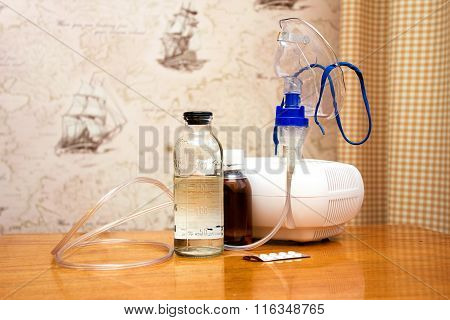 Medicines And Apparatus For Treatment Of Bronchitis In The Outpatient Setting