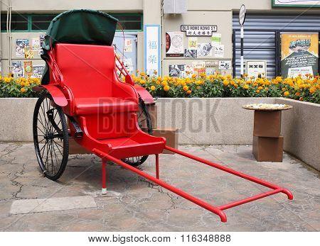 Traditional Chinese Rickshaw