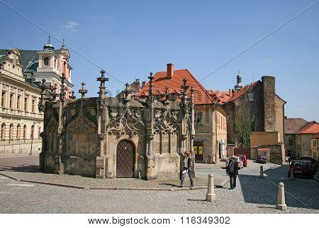 Kutna Hora, Czech Republic - April 17, 2010: Gothic