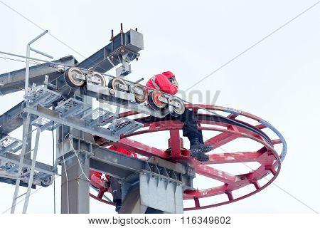 Ski Lift Repair