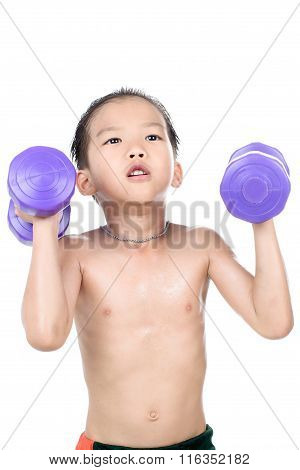 Man Arm And Dumbbell