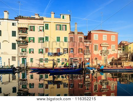 Houses Of Chioggia