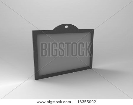 Branding Stationary 3D Render Id Card