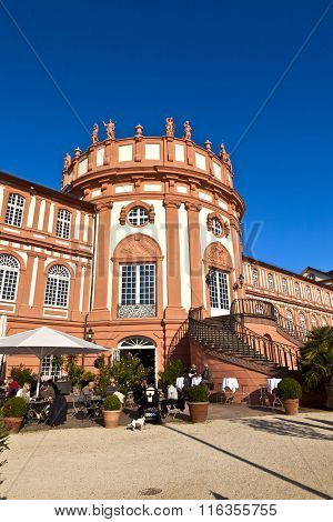 Famous Biebrich Palace In Wiesbaden