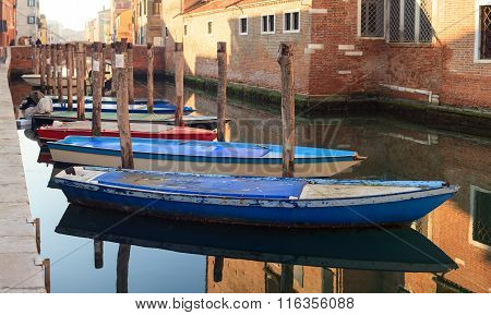 View Of Fisherboats, Chioggia