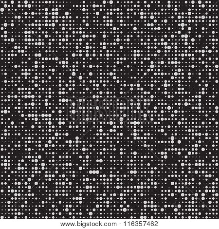 Black and white pattern. BW vector halftone backgound