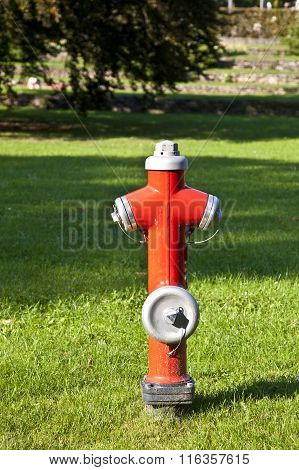 Hydrant At The Meadow