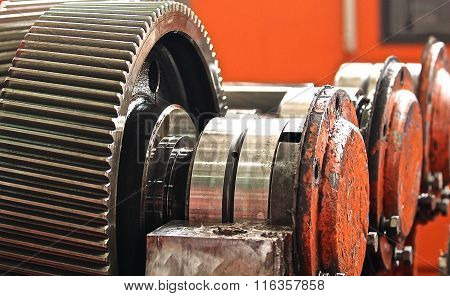 The Gear Train In The Gear