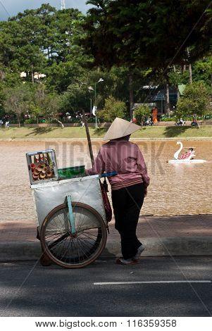 DALAT, VIETNAM - July 25 2011