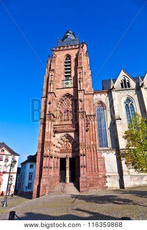Minster In Wetzlar, Germany