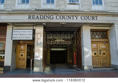 Reading County Court, Berkshire