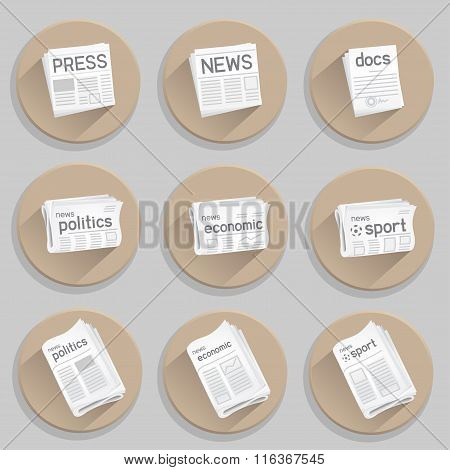 newspaper press icon