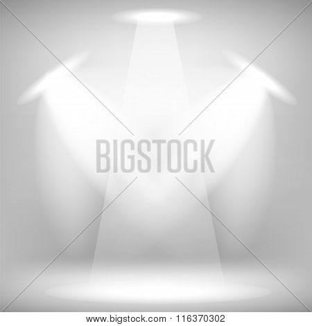 Stage Spotlight Background