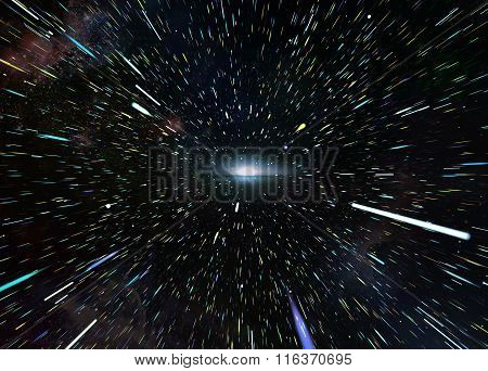Interstellar travel to the galaxy