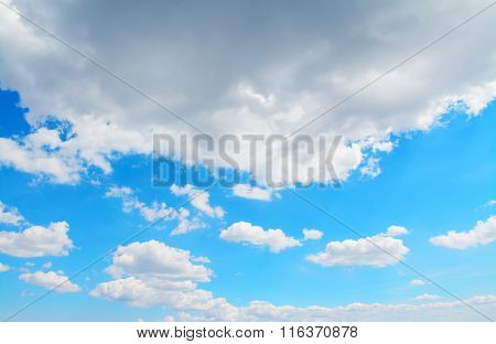 Grey And White Clouds