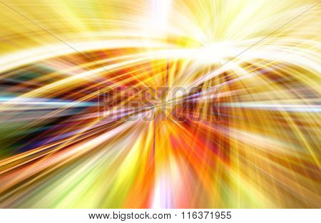 Rainbow Concept Background.  Ilustration For Your Business Artwork.
