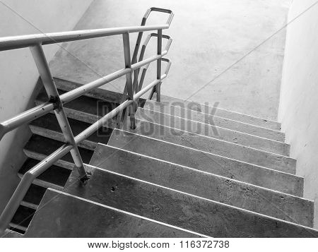 Stairs Of The Parking