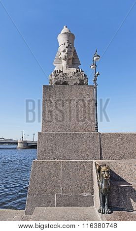 Sphinx And Winged Lion