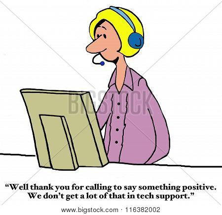 Thank You to Tech Support