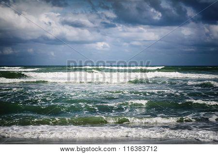 Stormy Sea Background