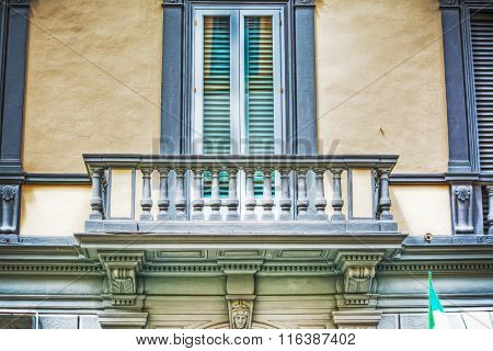 Beautiful Windows And Balcony In Hdr